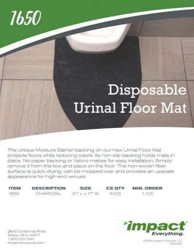 Disposable Urinal Floor Mat